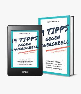 19 Tipps gegen Dauergebell - Ebook