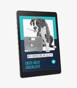 Erste-Hilfe-Checkliste für Hunde